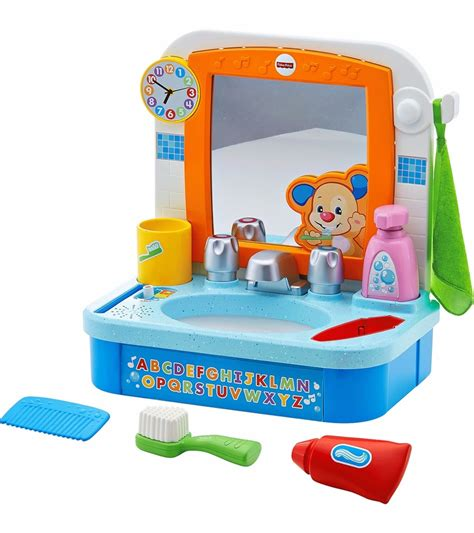 fisher price kitchen sink fisher price laugh learn let s get ready sink 7212
