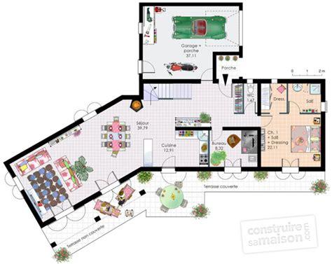 bureau de maison design plan maison etage 4 chambres 1 bureau solutions pour la