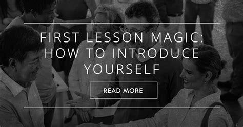 lesson magic   introduce