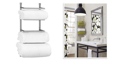 bathroom towel racks  chic towel bars racks