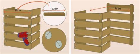 fabriquer une table de chevet en palette d 233 coration