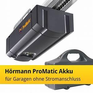 Hörmann Promatic Akku : h rmann promatic akku f r garagen ohne stromanschluss news tor7 ~ Yasmunasinghe.com Haus und Dekorationen