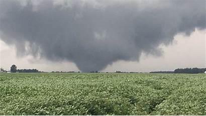 Tornado Ohio Indiana August Outbreak Tornadoes Interdesign