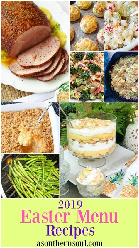Soul food southern style recipes for easter dinner. Easter Menu Recipes 2019 - A Southern Soul | Easter menu recipes, Recipes, Holiday recipes breakfast