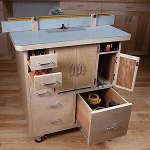 Magazine - Router Table