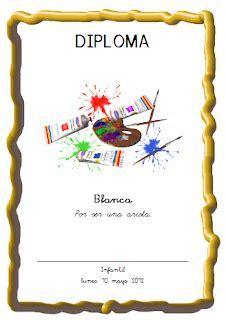 generador de diplomas infantiles actividades para educaci