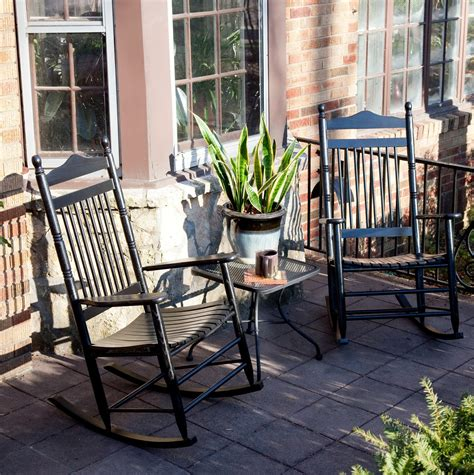 Porch Chairs On Sale by Reupholsters Black Rocking Chairs The Home Redesign