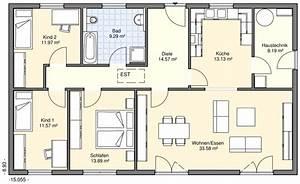 Grundriss Bungalow 100 Qm : bungalows bgw hausbau ~ Frokenaadalensverden.com Haus und Dekorationen