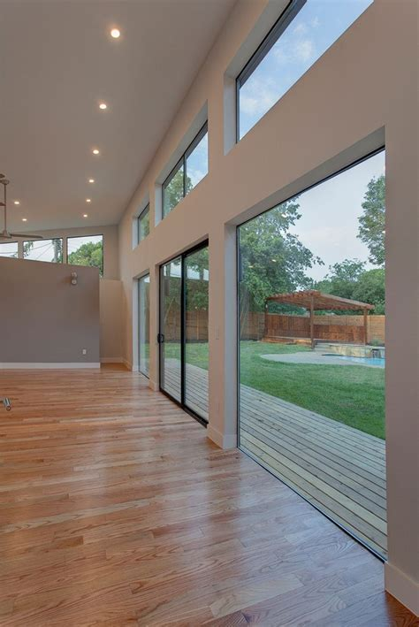 indoor outdoor living made possible with large patio doors