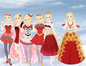 Ever After High Apple White by TohruSempai on DeviantArt
