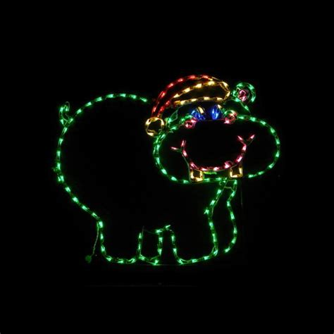 led outdoor christmas decorations lighted animal