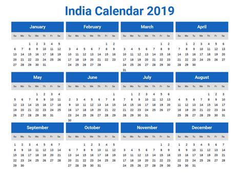 calendar india holidays festivals