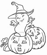 Ghost Coloring Pages Printable sketch template