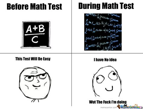Memes Test - math test by kat43 meme center