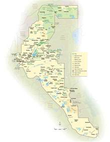 Gold Country California Map