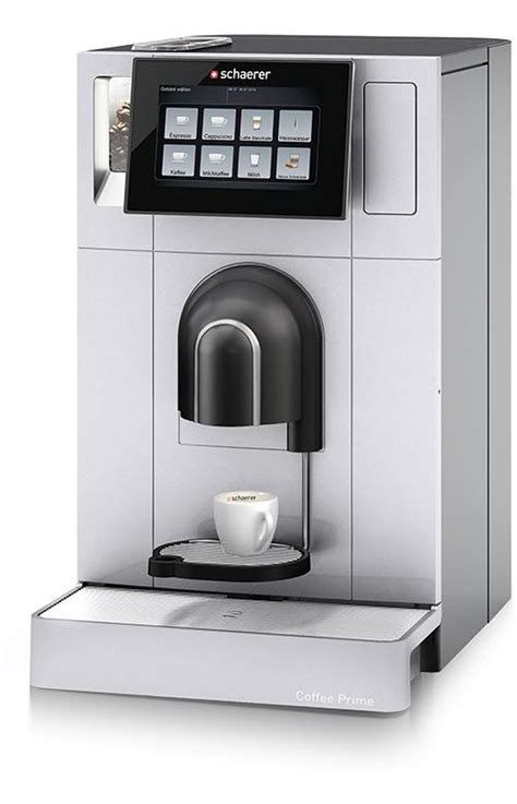 schaerer coffee schaerer coffee prime espresso machine foodbev media