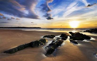 Woolacombe Sands Ss Beach Wallpapers Widescreen Nature