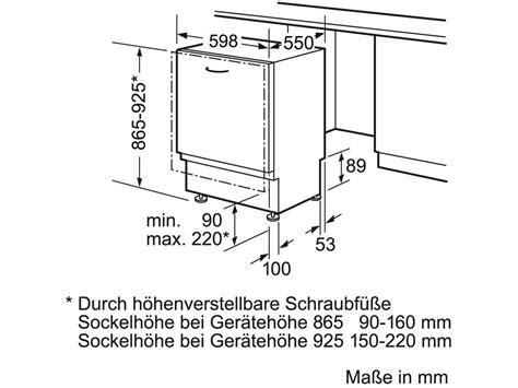 bosch geschirrspüler frontblende bosch sbv25ax00e vollintegrierbarer einbaugeschirrsp 252 ler