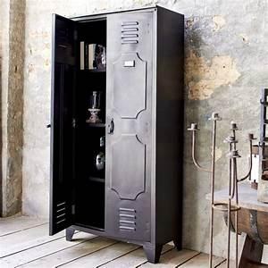 Armoire Metallique Chambre : extr mement armoire industrielle m tallique kd93 montrealeast ~ Teatrodelosmanantiales.com Idées de Décoration