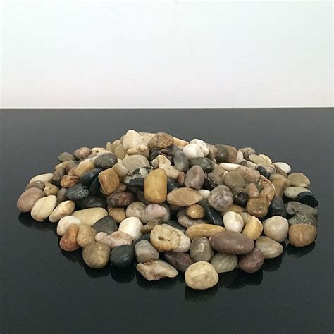 Garden Decoration Pebbles by 1kg Assorted Browns Decorative Stones For Vases