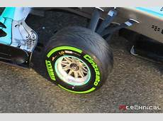 Mercedes F1 W06 Front Advanti rim detail Photo gallery