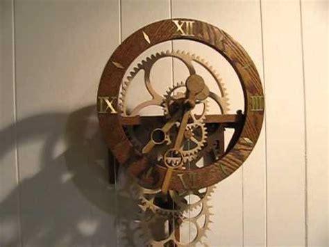 wooden gear clock genesis design wooden gear clock simplicity clock