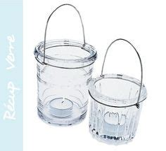 photophore bougies on candles candle holders and glass jars