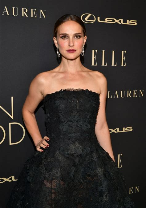 Natalie Portman Elle Women Hollywood Event