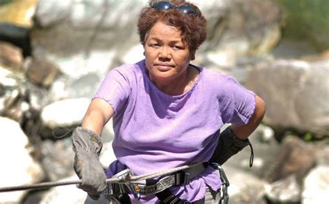 Bachendri Pal, the first Indian woman to climb Mount
