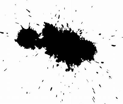 Ink Stain Transparent Splatter Background Clipart Clip