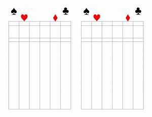 Free Bid Sheets Printable 500 Score Pad Free Download