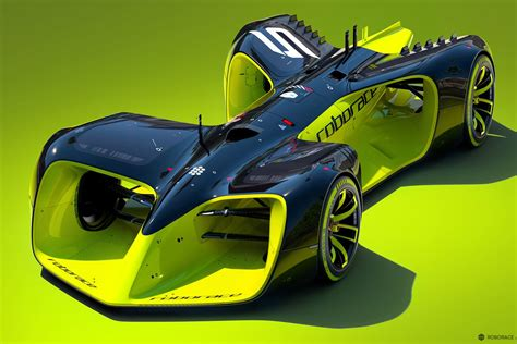 These Are The Crazy Futuristic Cars Of Roborace, The World