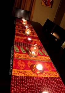 Beautiful runners and all things on pinterest for Interior decoration ideas for diwali