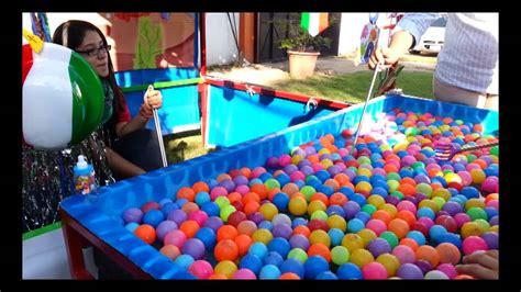 Éstos juegos no deberán ser los típicos juegos. Juegos de Feria - La Pesca - Réntalos para tu Kermessse, Fiestas o Eventos - YouTube