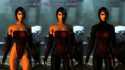 Mods Skyrim Armor Cbbe Nightshade Loverslab Bodyslide