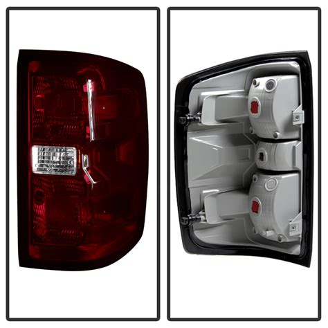 chevy truck tail lights 2014 2016 chevy silverado oe style replacement tail lights