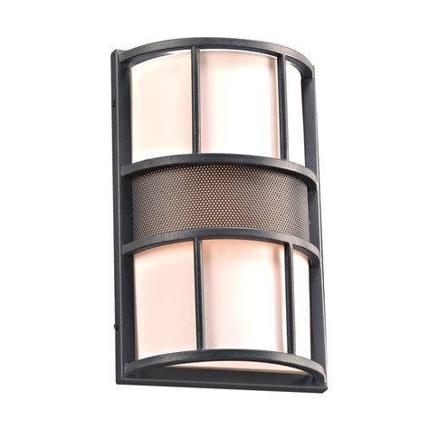 modern outdoor wall light in bronze 72381246 destination