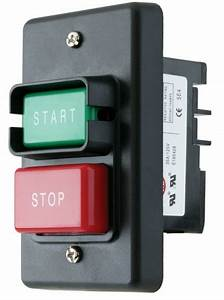 Switch On Off Start Stop Push Button Woodstock Single Phase Motor Electric Amp