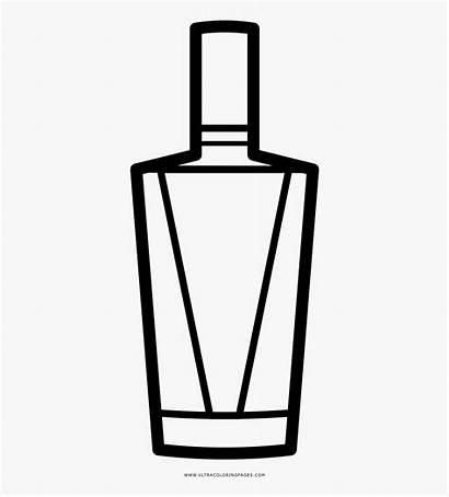 Bottle Coloring Para Licor Botellas Liquor Colorear