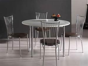 Table A Manger Ronde Pas Cher : table ronde cuisine pas cher salle a manger moderne pas cher trendsetter ~ Melissatoandfro.com Idées de Décoration