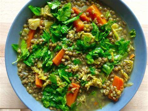 cuisine lentilles vertes recettes de lentilles vertes et cuisine vegane