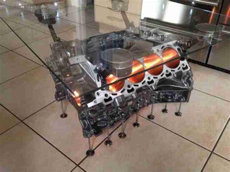 Aston Martin 47 V8 Vantage Engine Coffee Table Not A V12