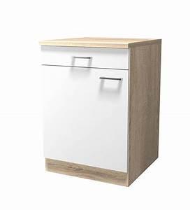Küchen Unterschrank 60 Cm Breit : k chen unterschrank rom 1 t rig 60 cm breit wei k che rom ~ A.2002-acura-tl-radio.info Haus und Dekorationen
