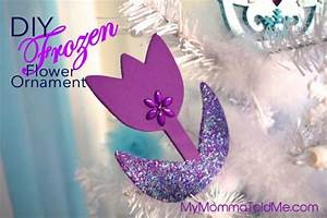 Easy DIY Frozen Christmas Ornaments & Tree Topper | Hello ...