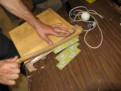 Cut Circuit Boards With Paper Cutter All
