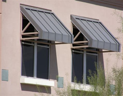 commercial steel awnings
