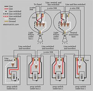 Wiring Diagram Schematic To Switch To Light