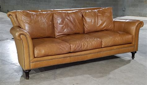 Apartment Therapy Leather Sofa by Ferguson Copeland Chaddock Surrey Leather Sofa Apartment