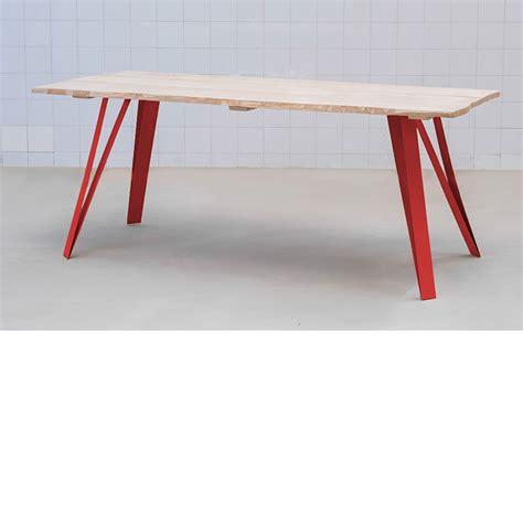 bureau design blanc graf k fabricant de pieds de table et plateau en bois design