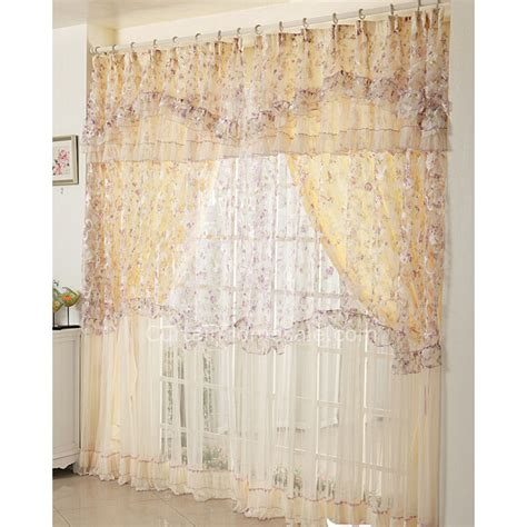 country style window curtains of best quality lace for
